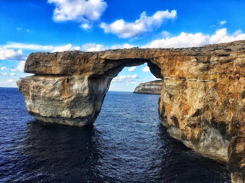 Drehorte von GoT: Felsentor auf Gozo