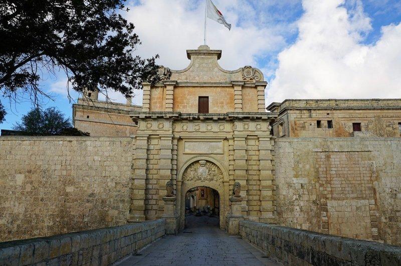Drehorte von GoT: Eingang von Mdina und Königsmund