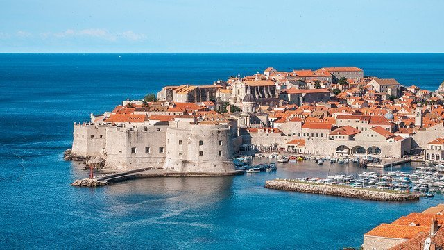 Drehorte von GoT: Hafen von Dubrovnik