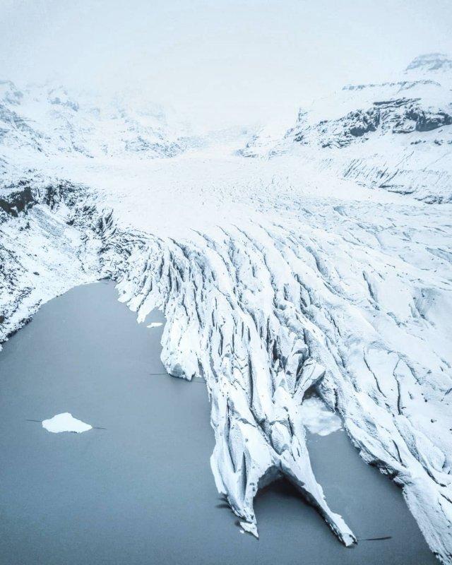 Drehorte von GoT: Svínafellsjökull Gletscher