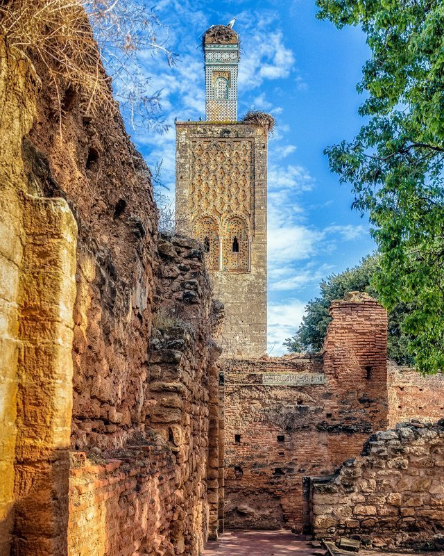 Günstig nach Marokko: Hassan Turm