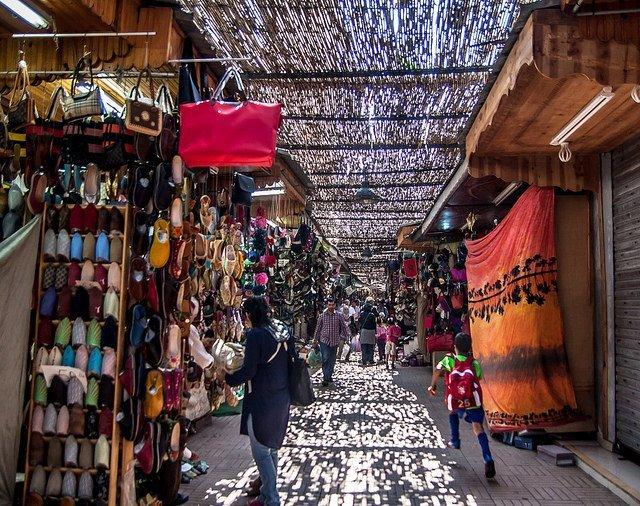 Günstig nach Marokko: Ruelle de la Medina
