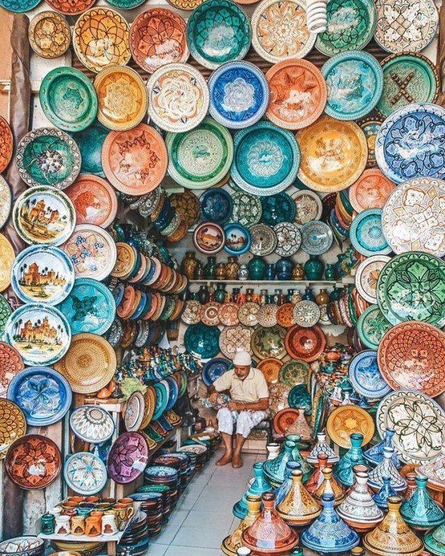 Günstig nach Marokko: Jema-el-Fna