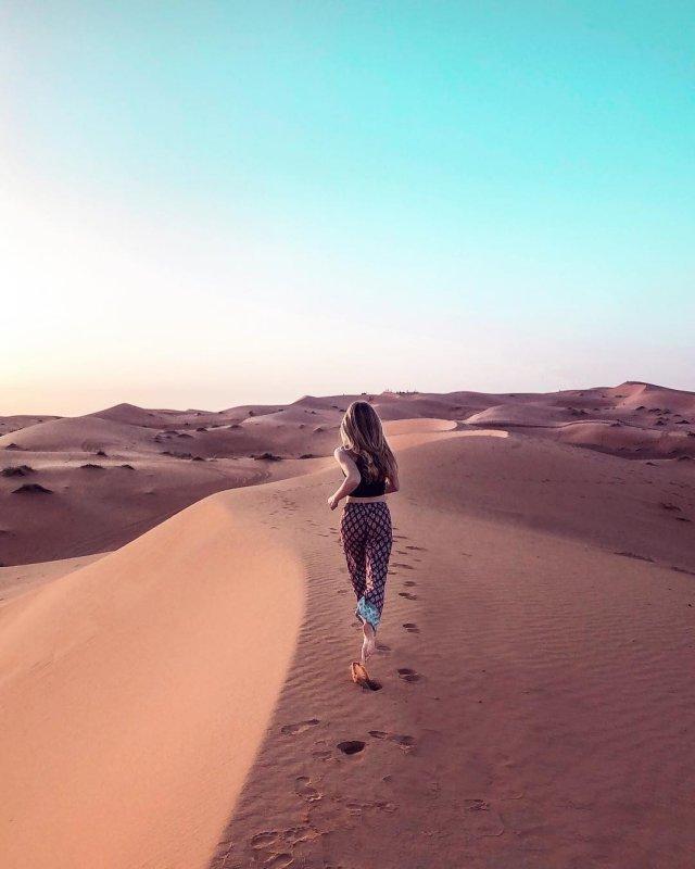 Günstig nach Marokko: Saharawüste