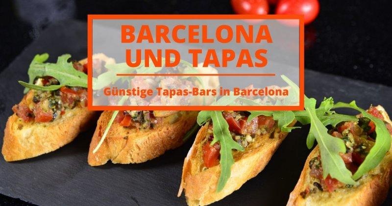 Die günstigsten Tapas-Bars in Barcelona