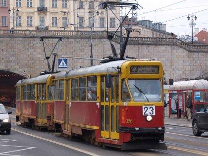 varsavia tram