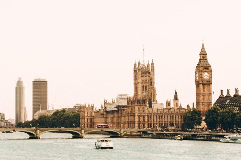 London zu zweit: Aussicht von der Themse