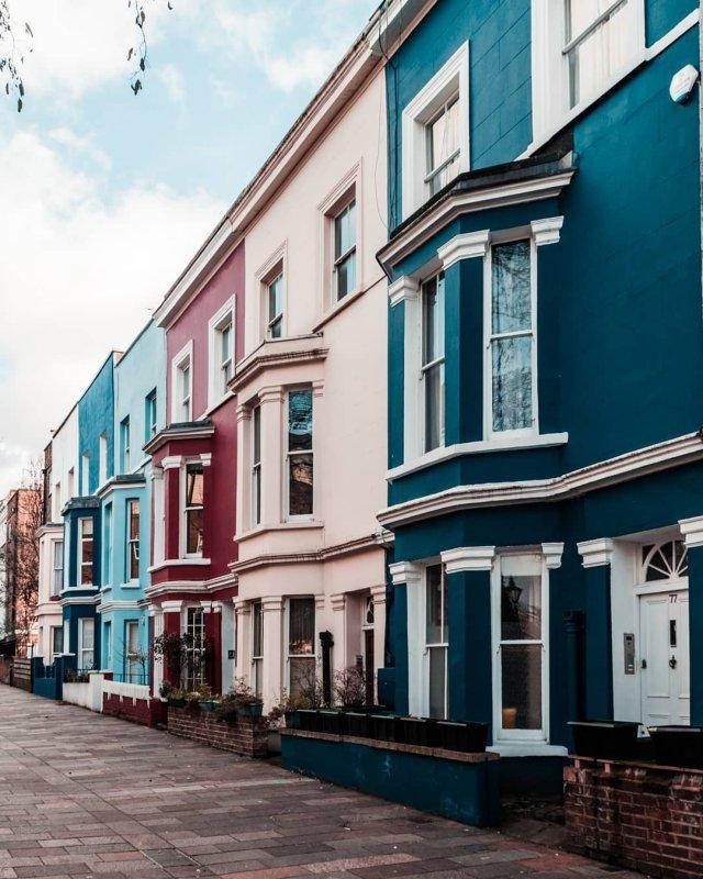 London zu zweit: Notting Hill