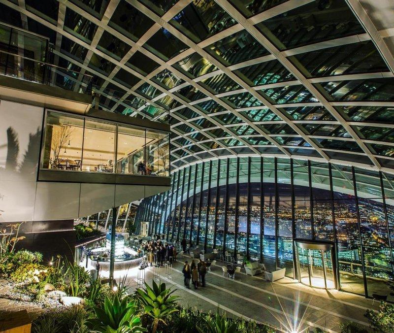 London zu zweit: Sky Garden