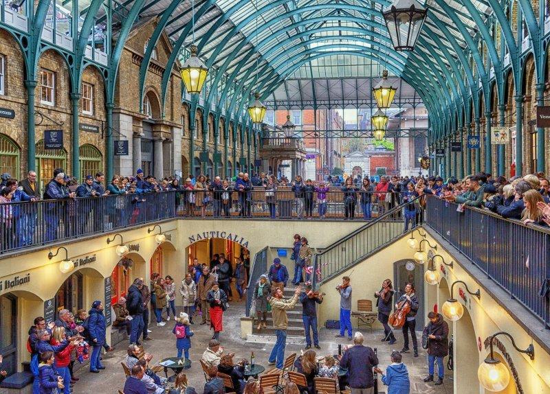 London zu zweit: Covent Garden