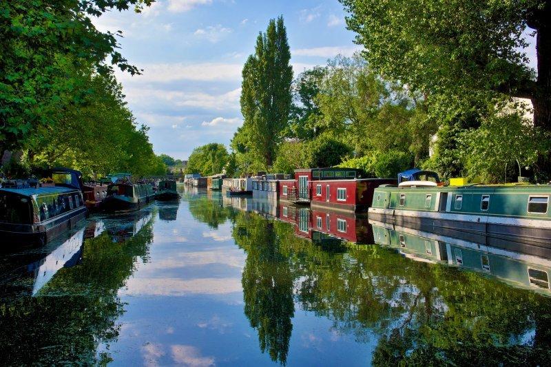London zu zweit: Little Venice am Regent's Canal