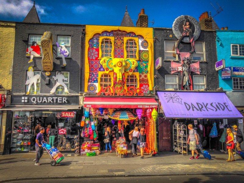 London zu zweit: Camden Market