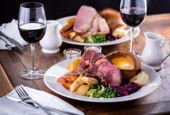 London zu zweit: Sunday Roast