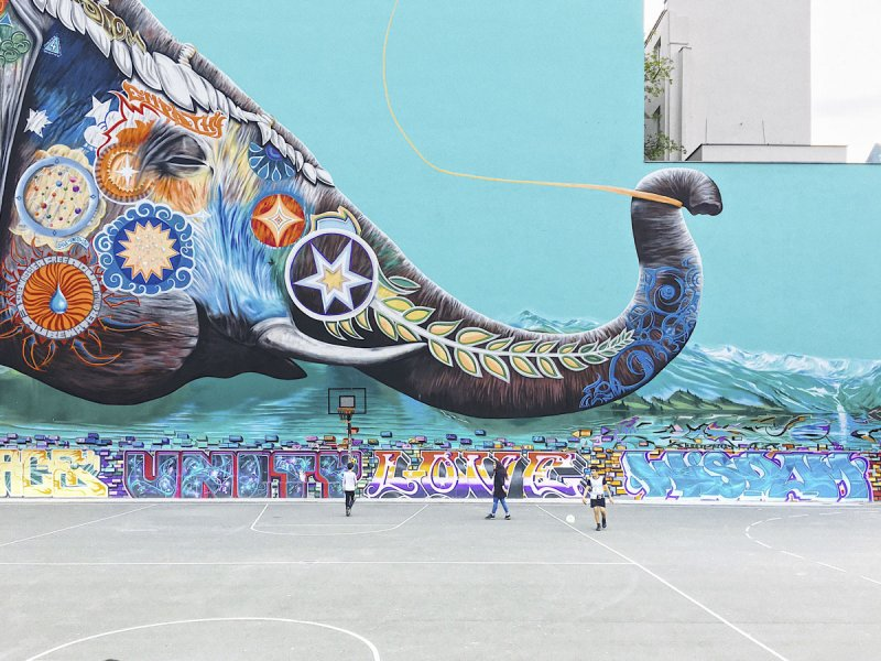 Streetart Berlin !