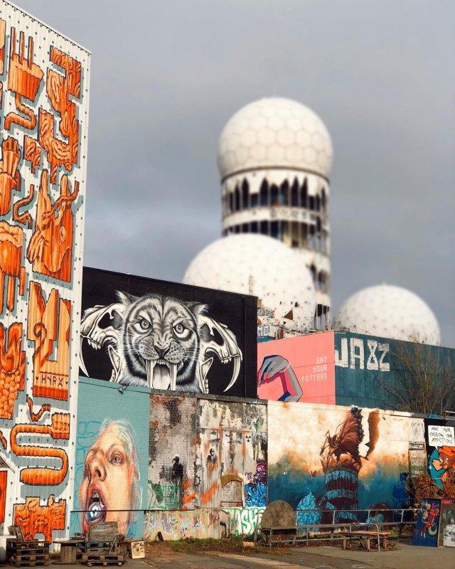 Streetart Berlin Teufelsberg