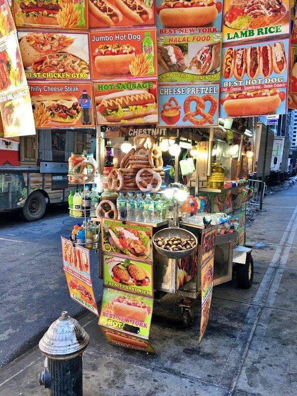 Street Vendors New York