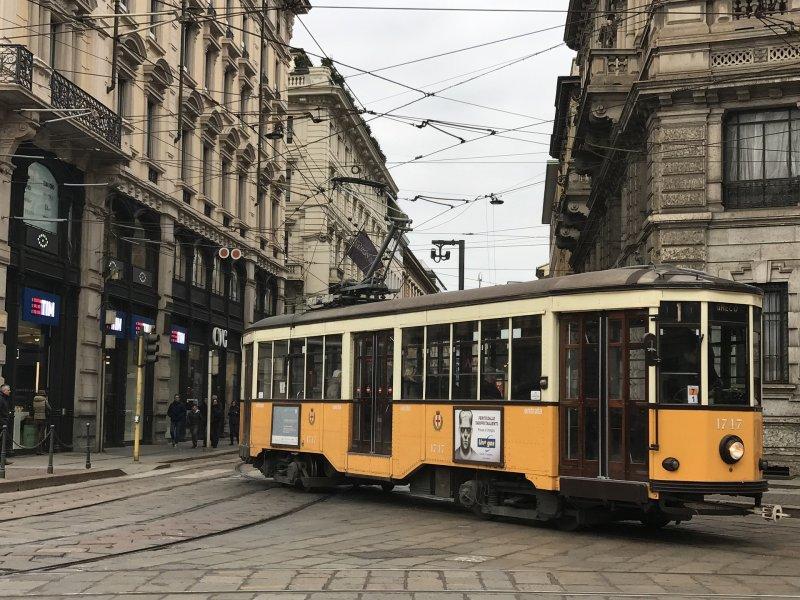 Tram, Milan, Italy