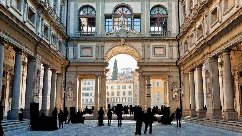 Florence – The Uffizi Gallery