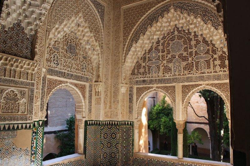 Interior of the Alhambra