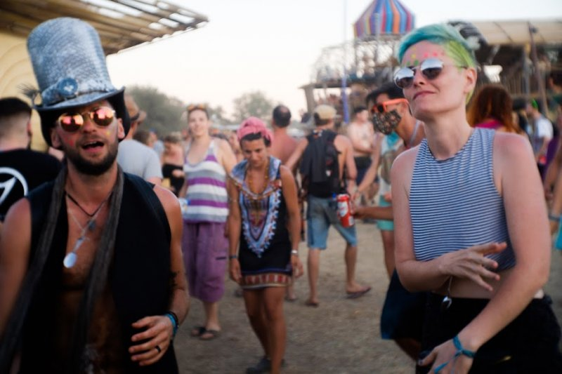 hippie and corporate: boom festival