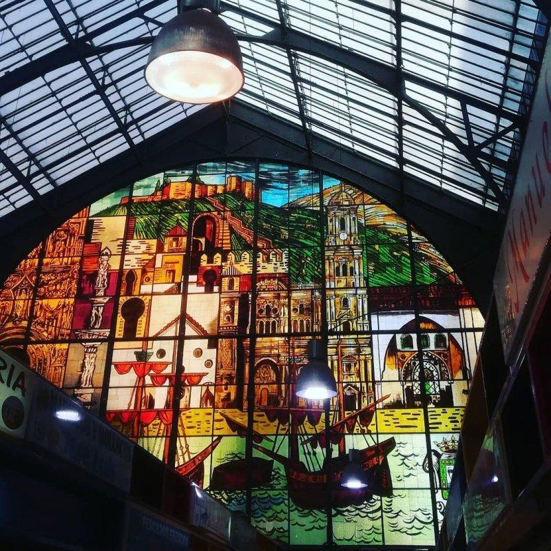 Atarazanas Market inside
