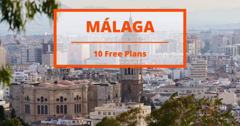 Málaga: 10 Free Plans