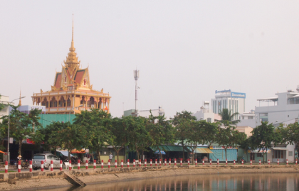 Munirensay Pagoda in Can Tho, Vietnam