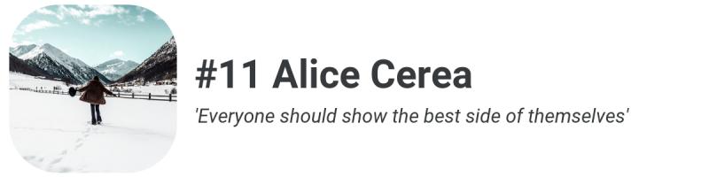 Influencer Alice