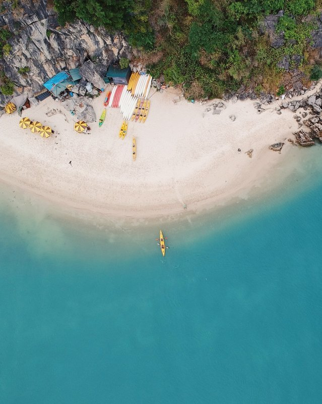Monkey Island Halong Bay Vietnam