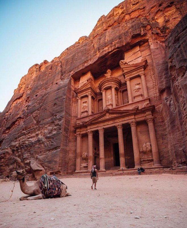 posti più belli del mondo petra giordania