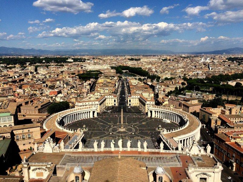 posti più belli del mondo città vaticano