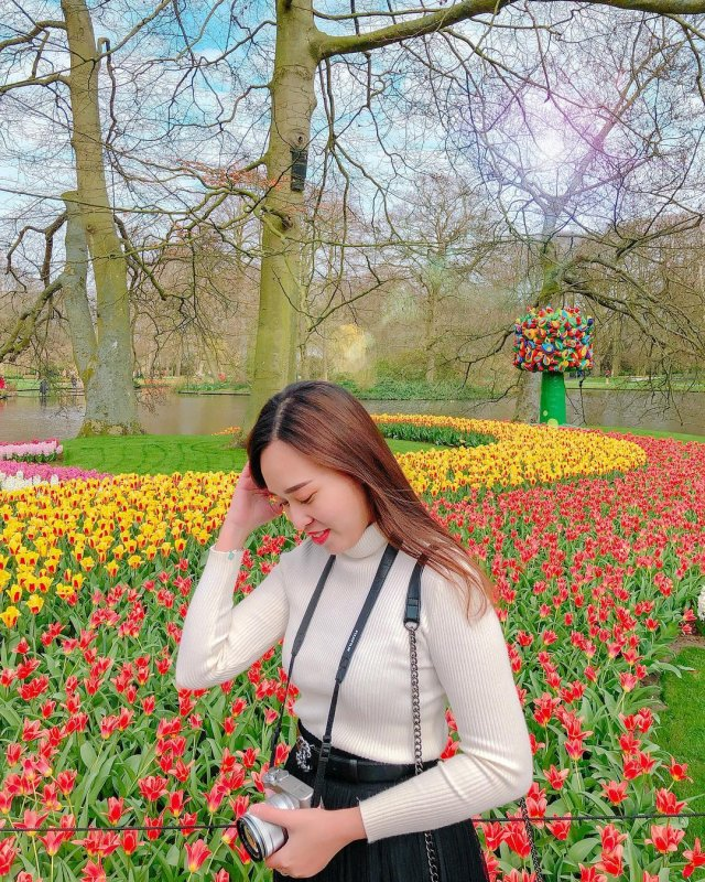 Flowers galore at Keukenhof gardens