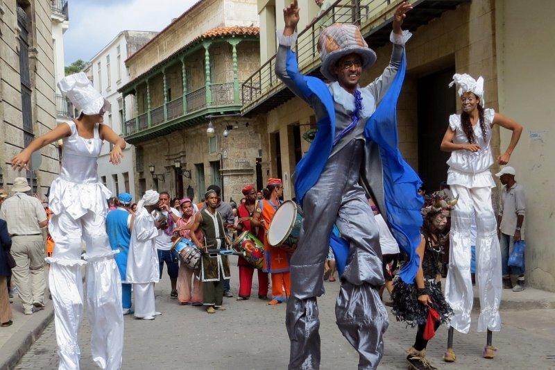 Annual Festival in Havana