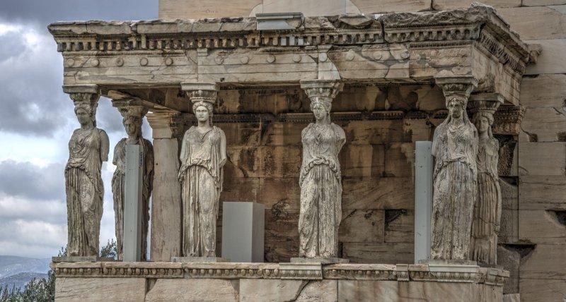Greeck Acropolis details