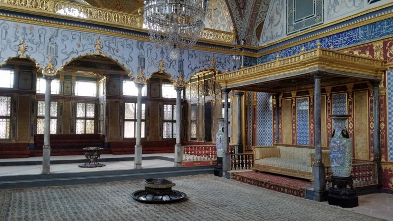 Topaki Palace, one of the top 10 things to do in Istanbul