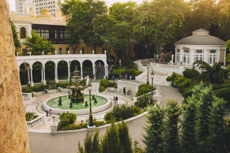 visiting Baku: Philarmony