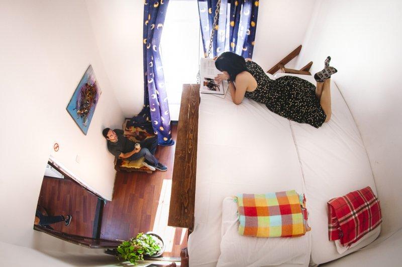ZION hostel in Baku shared rooms