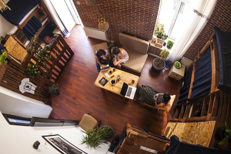 ZION hostel in Baku friendly people