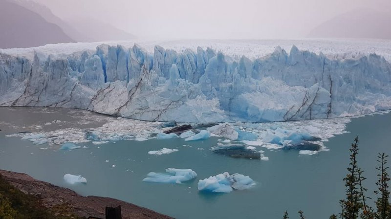 What do in Patagonia: visiting the Moreno Glacier!