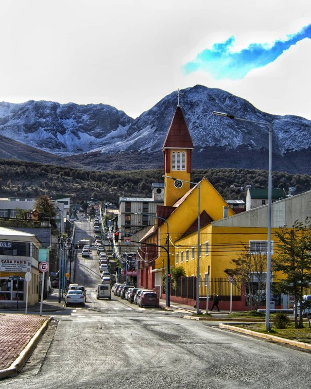 visit the city at the end of the world in Patagonia