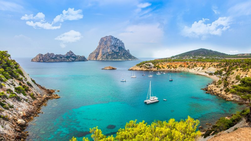 Discover the beauty of Ibiza, your second stop