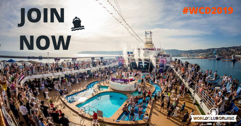 Barcelona, Ibiza & Sète: Welcome to the World Club Dome Cruise Edition 2019