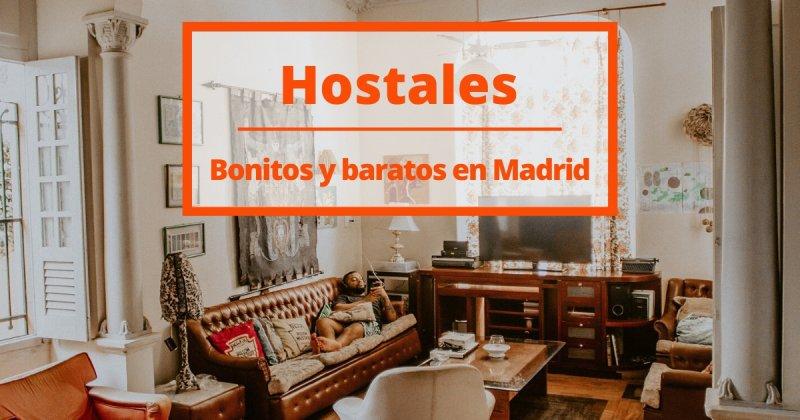 8 hostales bonitos y baratos para ahorrar en tu viaje a Madrid