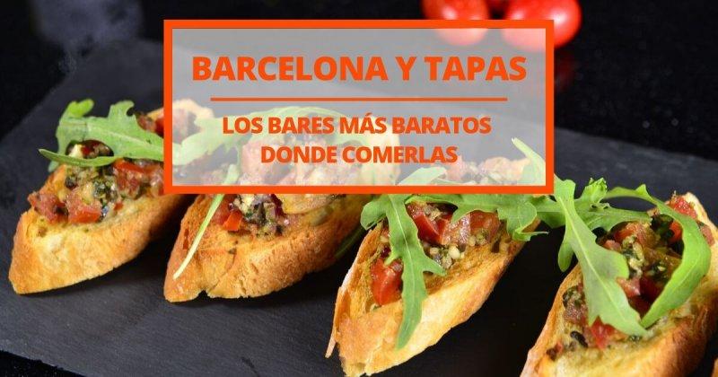 Los bares de tapas más baratos de Barcelona