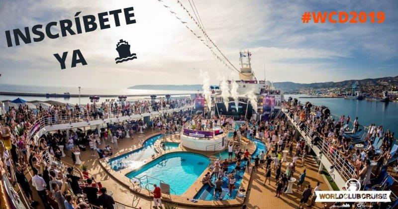 Barcelona, Ibiza y Sète: Bienvenidos al World Club Dome Cruise Edition 2019