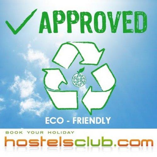HostelsClubin ympäristöystävälliset ja vihreät hostellit