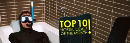 Top 10 Kesäkuun Hostellitarjoukset