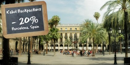 Kabul Backpackers Hostel Barcelona -20%