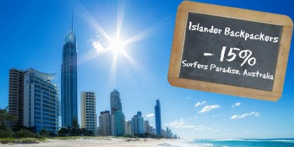 Islander Backpackers Resort Surfers Paradise -15%