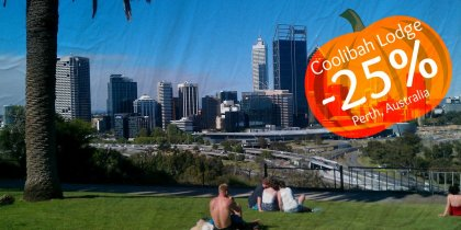 25% discount in Perth